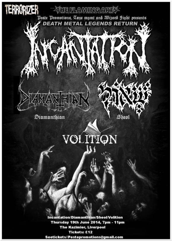 Peste Promotions & Tone MGMT & Wizard Fight presents: INCANTATION